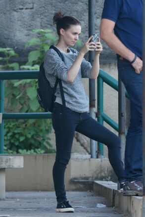 Rooney Mara e Martin Sheen no Brasil