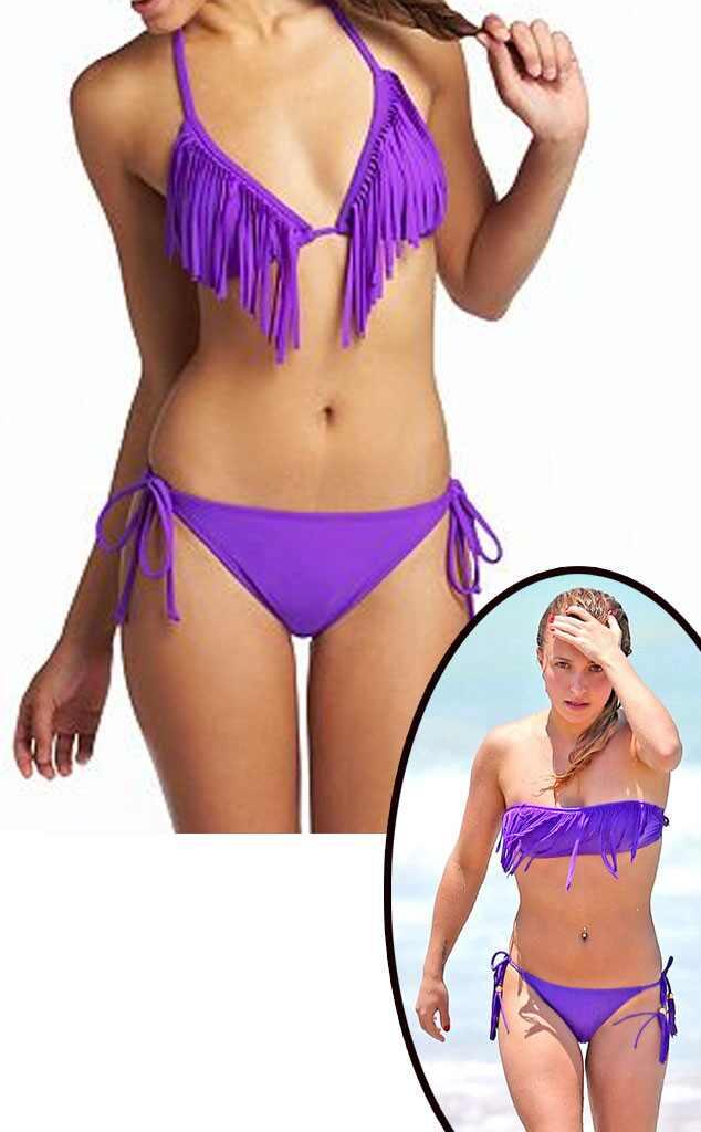 Hayden Panetierre, Fringe bikini