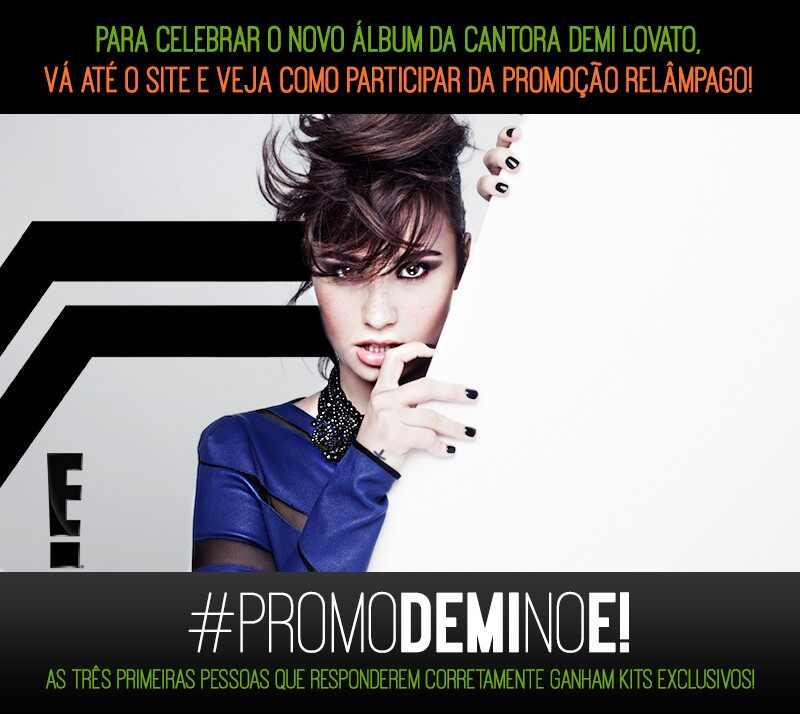 Demi Lovato, Demi, Heart Attack, Concurso