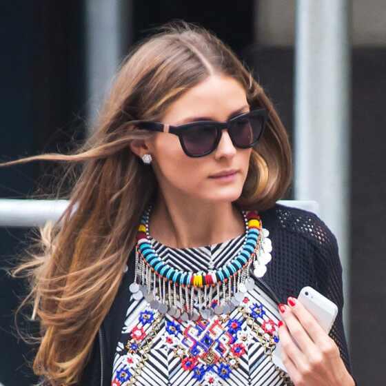 Olivia Palermo collar