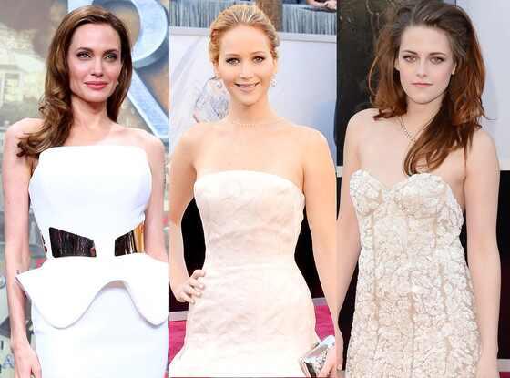 Angelina Jolie, Jennifer Lawrence, Kristen Stewart