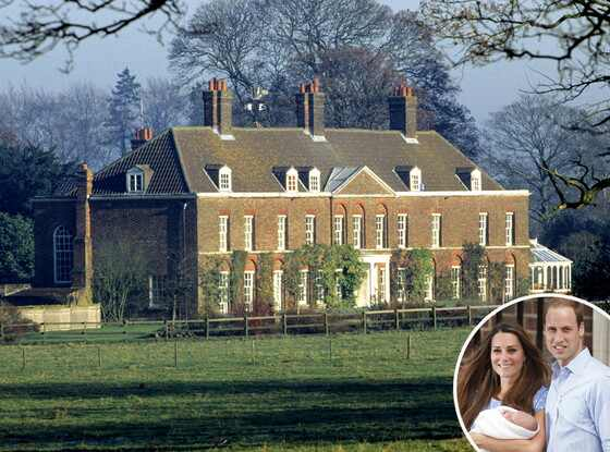Prince william and kate middleton 39 s new home royal couple for Middleton home