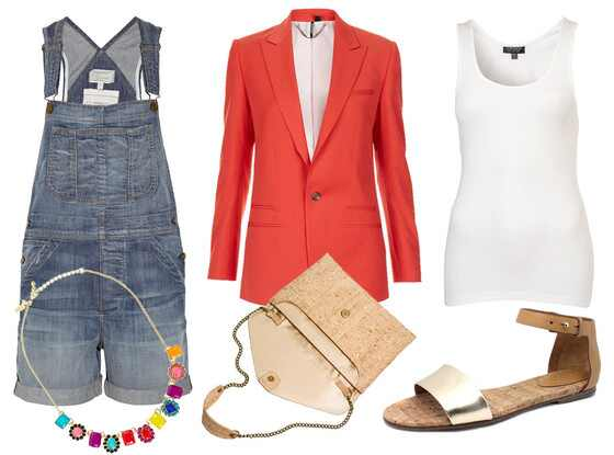 July 4th Outfit Collage
