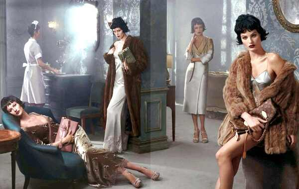Gisele Bundchen, Isabelo Fontana, campanha Louis Vuitton