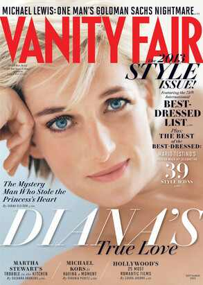 Princess Diana, Vanity Fair