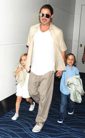 Brad Pitt, Knox Jolie-Pitt, Vivienne Jolie-Pitt