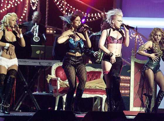 Christina Aguilera, Maya, Pink, Lil