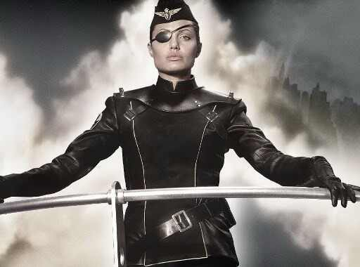 Angelina Jolie, Sky Captain and the World of Tomorrow