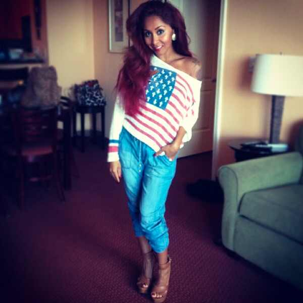 Snooki, Instagram