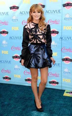 Bella Thorne, Teen Choice Awards
