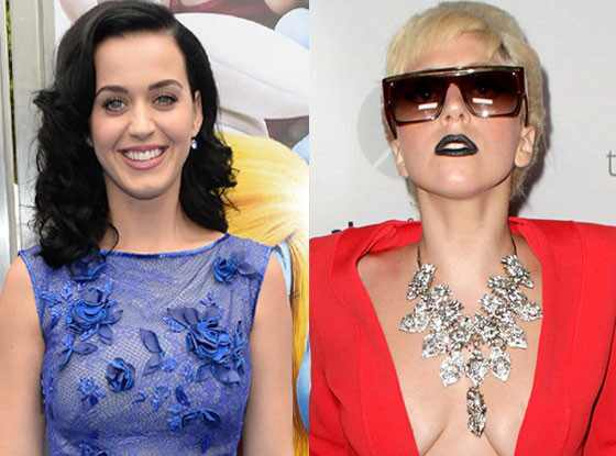 Katy Perry, Lady Gaga