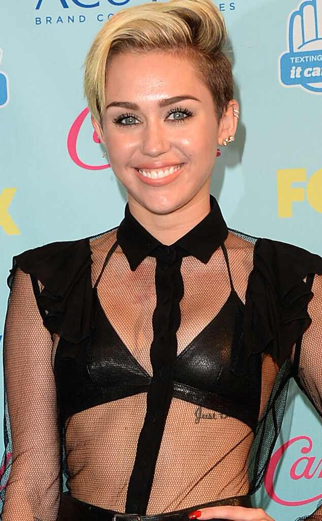 Miley Cyrus, Teen Choice Awards