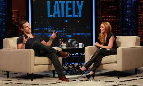 Lindsay Lohan in Chelsea Lately