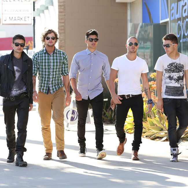 The Wanted, Max George, Siva Kaneswaran, Jay McGuiness, Tom Parker, Nathan Sykes
