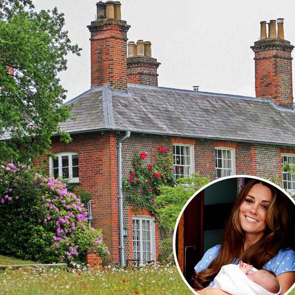 Bucklebury Manor, Prince William, Kate Middleton, Prince George