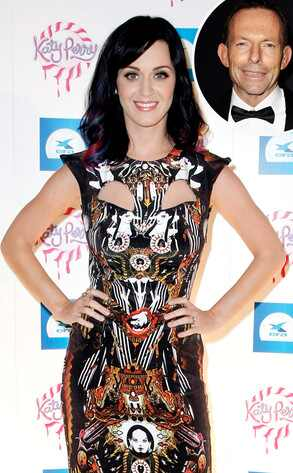 Katy Perry, Tony Abbott