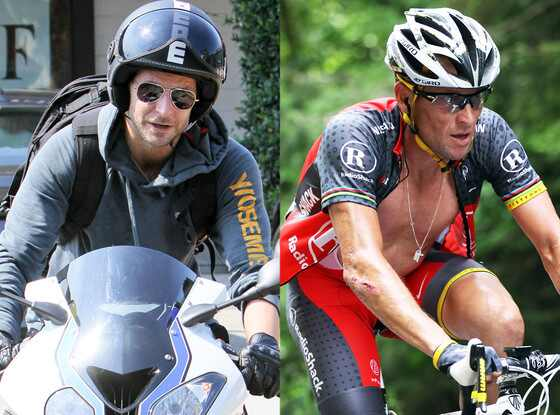 Bradley Cooper, Lance Armstrong