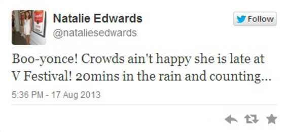 Beyonce, tuite fa beyonce