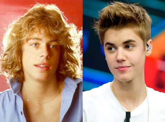 Leif Garrett, Justin Bieber