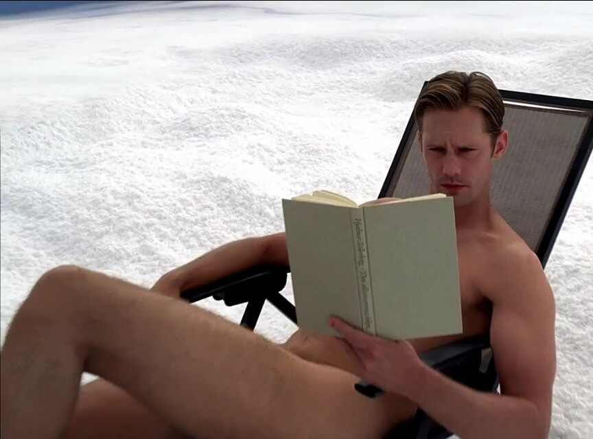 Eric, True Blood, Naked