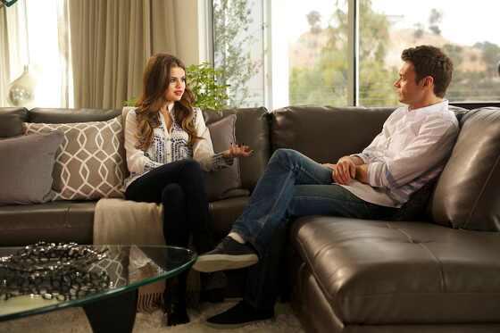 Selena Gomez con Ryan Seacrest