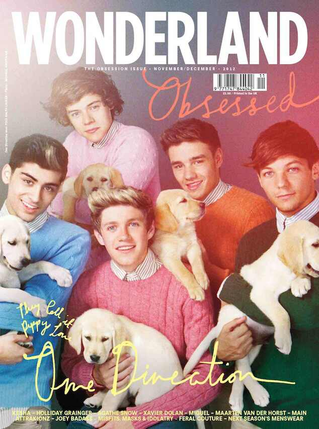 One Direction capas de revista
