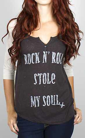 Punk Grunge Trend, Rock & Roll Tee