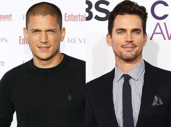 Wentworth Miller, Matt Bomer