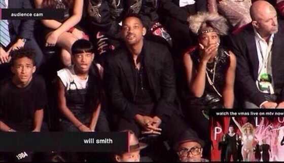 Smith Family, Miley Cyrus Reactions, VMAs