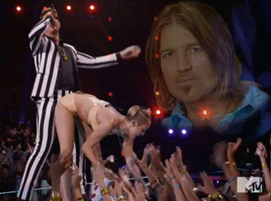 Miley Cyrus and Justin Bieber Collaborate on New Song ...  Billy Ray Cyrus And Baby Miley Cyrus