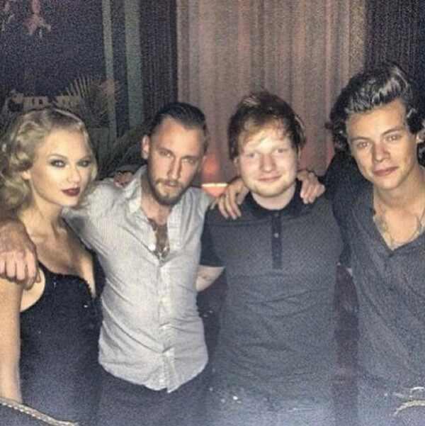 Taylor Swift, Ed Sheeran, Harry Styles