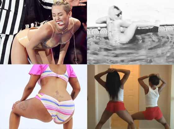 Miley Cyrus, Nicki Minaj, Twerking