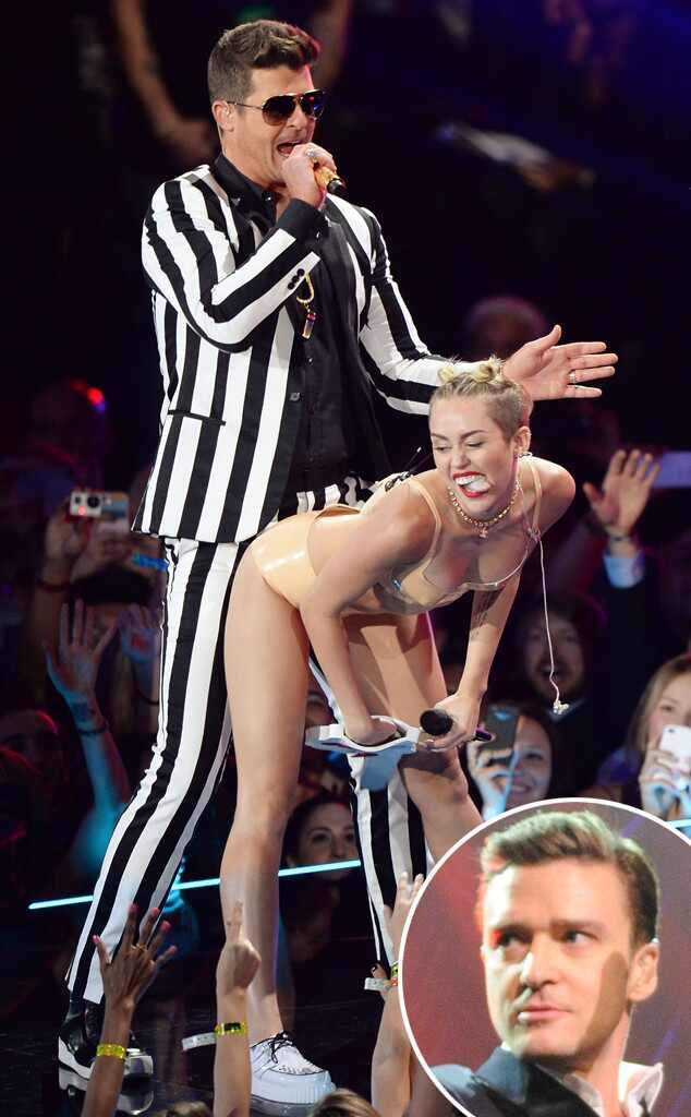 Miley Cyrus, Justin Timberlake, Twerking, VMA