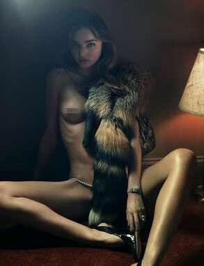 Miranda Kerr, Interview Magazine