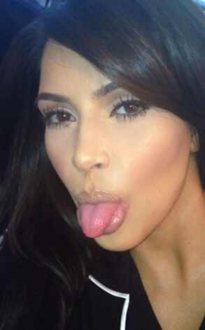 Kim Kardashian, Keek