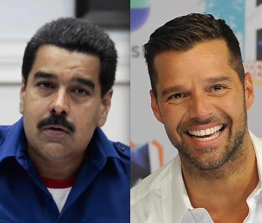 Ricky Martin, Nicolas Maduro