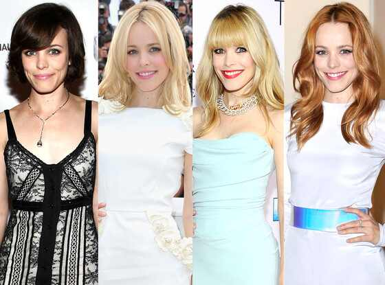Rachel McAdams, Celeb Hair Transformations