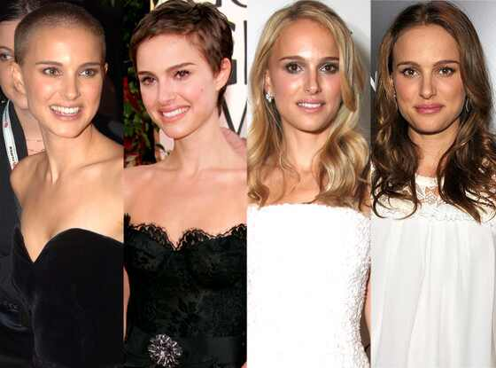 Natalie Portman, Celeb Hair Transformations