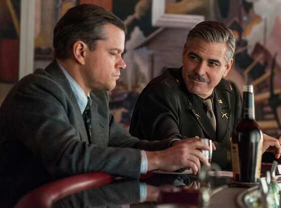 Matt Damon, George Clooney, The Monuments Men