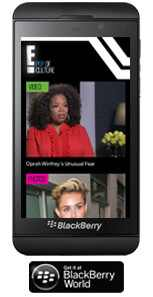 Click Here to Download the Blackberry 10 App
