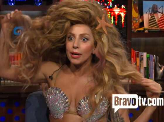 Lady Gaga, Watch What Happens Live, WWHL