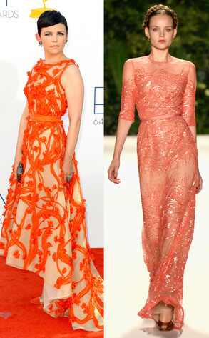 Emmy Awards, Ginnifer Goodwin, Naeem Khan Model