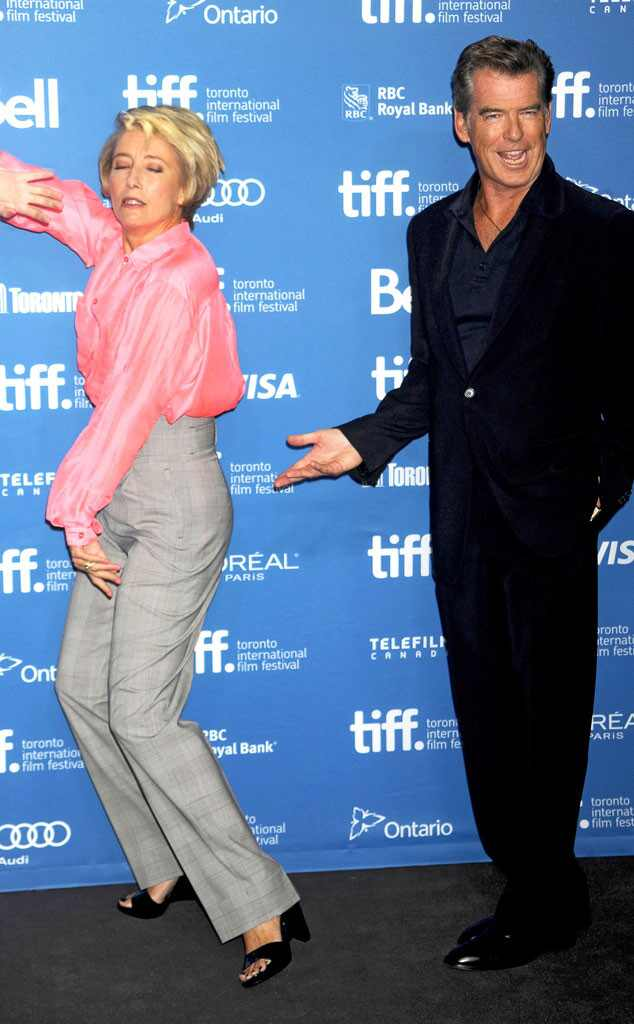 Pierce Brosnan, Emma Thompson