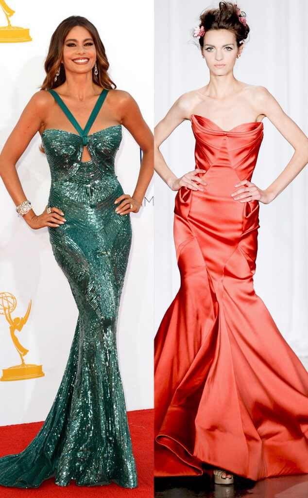 Emmy Awards, Sofia Vergara, Zac Posen