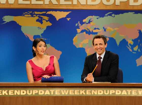 Cecily Strong, Seth Meyers