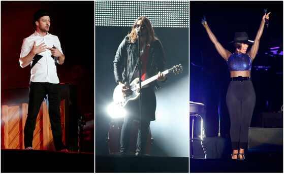 Rock in Rio, Justin Timberlake, Jared Leto, Alicia Keys