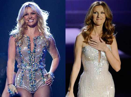 Britney Spears, Celine Dion