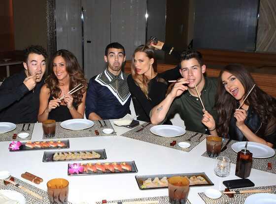 Nick Jonas 21st Birthday, Le Reve, Andrea