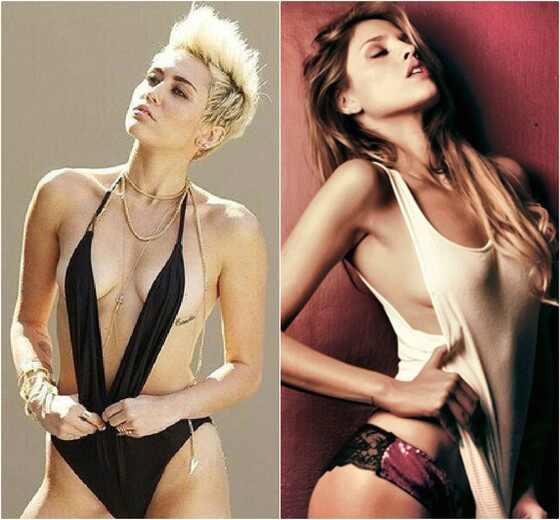 Miley Cyrus, Eiza Gonzalez