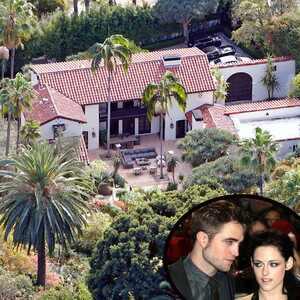 Robert Pattinson, Kristen Stewart, Home, House